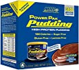 Maximum Human Performance Power Pudding Diet Supplements, Chocolate, 8.8oz - 6 Count
