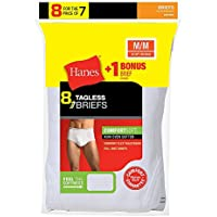9-Pack Hanes Mens No Ride Up Brief