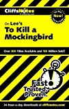 Image of On Lee's To Kill a Mockingbird (Cliffs Notes)