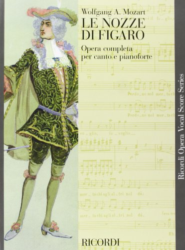 le-nozze-di-figaro-vocal-score-paper-italian-marriage-of-figaro-ricordi-opera-vocal-score