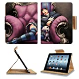 Panty plus Stocking With Garterbelt Apple Ipad 4 Flip Case Stand Anime Game Manga Comic ACG Smart Magnetic Cover Open Ports Customized Made to Order Support Ready Premium Deluxe Pu Leather 9 7/8 Inch (250mm) X 7 7/8 Inch (200mm) X 5/8 Inch (17mm) Woocoo Ipad Expert Ipad third generationad_mini Accessories Retina Display Graphic Background Covers Designed Model Folio Sleeve HD Template Designed Wallpaper Photo Jacket Wifi 16gb 32gb 64gb Luxury Protector