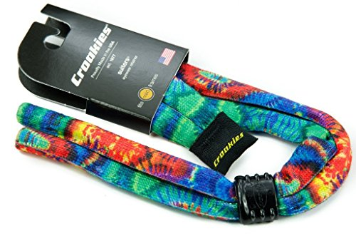 549f29e686 Croakies Printed Cotton Suiter Colorful Tie Dye Eyeglass and - Import It All