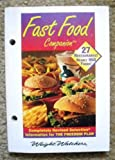 img - for Fast Food Companion book / textbook / text book