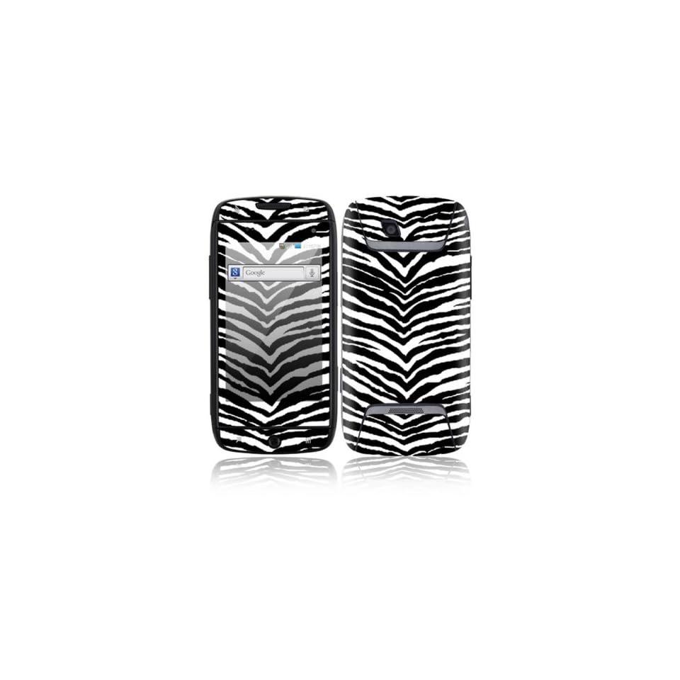 Black Zebra Skin Decorative Skin Cover Decal Sticker for