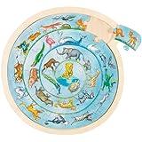 GoKi Wooden Animals Circle Puzzle