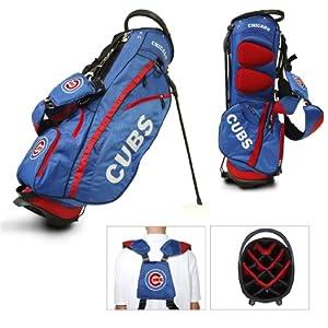 MLB Chicago Cubs Fairway Stand Golf Bag, Blue by Team Golf