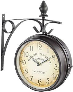 St. Leonhard - Reloj de estación de tren, diseño retro marca St. Leonhard