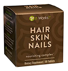 Amazon.com : It Works! Hair Skin Nails Nourishing Complex ...