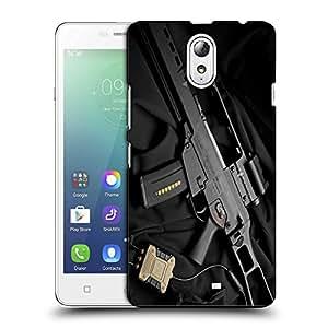 Snoogg Big Gun Designer Protective Back Case Cover For LENOVO VIBE P1