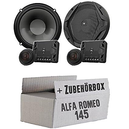 Alfa Romeo 145 - JBL GX600C   2-Wege   16cm Lautsprecher System - Einbauset