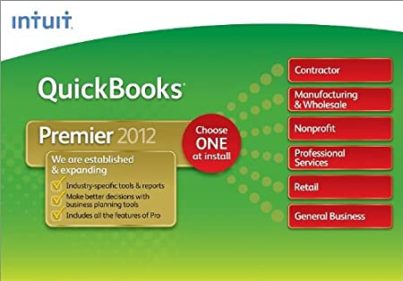 QuickBooks Premier Industry Editions 2012 [Download] [OLD VERSION]