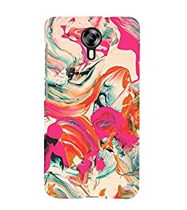 Colorful Abstract 3D Hard Polycarbonate Designer Back Case Cover for Micromax Canvas Xpress 2 E313 :: Micromax Canvas Xpress 2 (2nd Gen)