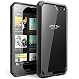 SUPCASE Amazon Fire Phone Case - Unicorn Beetle Premium Hybrid Protective Case (Clear/Black/Black), Compatible with Fire Phone 2014 Release