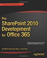 Pro SharePoint 2010 Development for Office 365 Front Cover