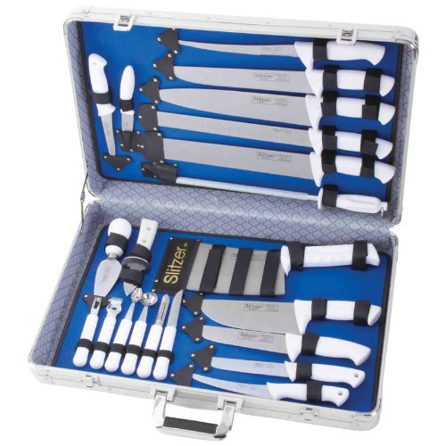Incomparable Cutlery Sets Standout Cutlery 22Pc Prof Cutlery Set In Case Exclusive