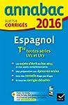 Annales Annabac 2016 Espagnol Tle LV1...
