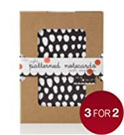 8 Patterned Love to Design Notecards with Envelopes