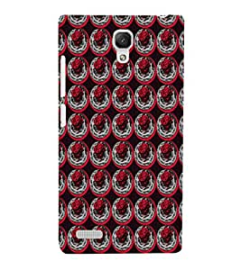 EPICCASE rose in plate Mobile Back Case Cover For Xiaomi Redmi Note Prime (Designer Case)