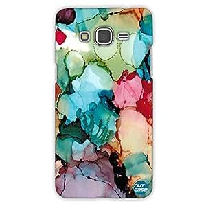 Designer Samsung Galaxy Grand Prime back Cover Nutcase-Alcohol Ink Styled Design