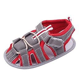 Weixinbuy Infant Baby Boy Soft Soft Non-slip Velcro Walk Sandals SZ11
