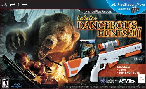 DANGEROUS HUNTS 2011 + TOP SHOT ELITE [JEU PS3]