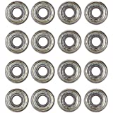 8/16/24pcs Both side Shielded 608 ZZ ABEC-7 Carbon Steel Bearings for Skateboards,Inline Skate, Scooter, Rollerblade