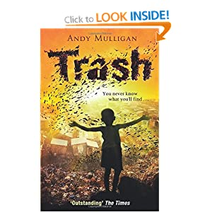 andy mulligans novel trash essay An excellent year 7 resource on the novel trash, by andy mulligan, which introduces them to writing a literary response using pee and peek paragraphs / students engage with the socio-economical issues effecting the lives of those around the wo.
