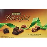 Hershey's Pot of Gold Assorted Chocolates Nuts Collection, 8.7-Ounce Boxes (Pack of 2)