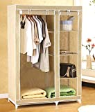 Pindia New Multilayer Storage Organizer Cabinate Wardrobe : RANDOM COLOR : 110 CMS x 45 CMS x 172 CMS