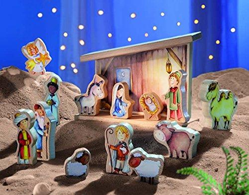 Haba Nativity Set Home Garden Decor Seasonal Holiday