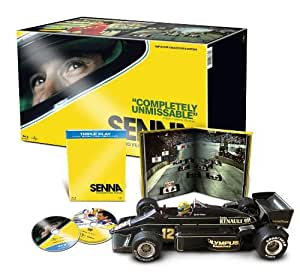 Senna - Limited Collector's Edition Triple Play (Blu-ray + DVD + Digital Copy - With 1:12 F1 Lotus Model) [Region Free]