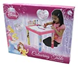 Ready Steady Bed Disney Princess Colouring Table Roll Markers & Crayons