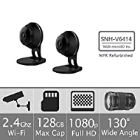 Samsung SNH-V6414BMR SmartCam HD Full HD 1080p Wi-Fi Camera Bundle Double Pack (Manufacturer Refurbished)