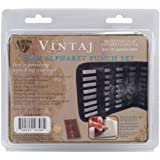 Beadsmith 3mm Alphabet Punch Set with Case, Uppercase Letters, 27-Pack