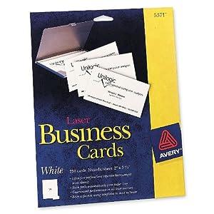 Amazon Avery Laser 2 x 3 1 2 Inch White Business