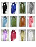 Premium Pashmina Shawl Wrap Scarf by Tapp Collections - ** Various Colors **