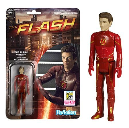 Funko DC The Flash ReAction The Flash Exclusive 3 3/4 Action Figure [Unmasked] by FunKo