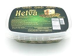 Tunas Halva, Halva with Pistachio, 12.3-Ounce (Pack of 4)