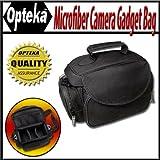 Opteka Microfiber Deluxe Photo/Video Camera Gadget Bag for Canon, Nikon, So ....