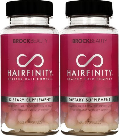 Brock Beauty Hairfinity Healthy Hair Vitamins 120 capsules 2 Months
