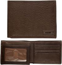 Goodlooking for Men - Fossil Mens Wallet - Chicago Traveler (Color: Brown)