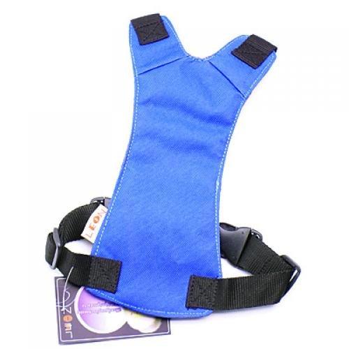 Blue Universal Fit Car Vehicle Dog Pet Seat Safety Belt Harness Neck 25cm - 34cm