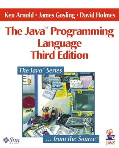 Java(TM) Programming Language, The