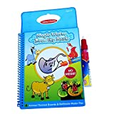 PTCM Magic Kids agua Aqua reutilizable Book de dibujo con la pluma m�gica 1 / �ntimo para colorear libro agua pintura bordo, juguetes educativos de primera infancia (libro Animal)