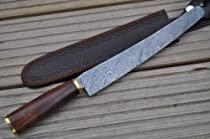 Hunting Knife - Damascus Steel - Handmade Kitchen Knife - Work of Art