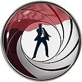 Secret Agent Design Metal Pin Badge