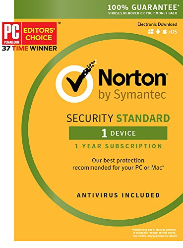 Norton Security Standard - 1 Device [Key Card] (Device Software compare prices)