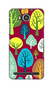 ZAPCASE Printed Back Cover for Lenovo A7700