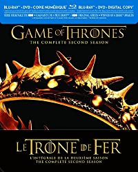 Game of Thrones: The Complete Second Season (Bilingual) [Blu-ray + DVD + Digital Copy]