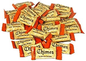 Chimes Orange Ginger Chews, 1lb Bag